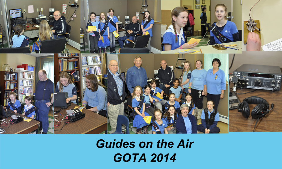 Guides on the Air GOTA 2014